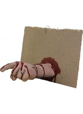 Рука торчащая из стены