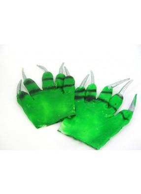 Руки зеленые с когтями 1 фото