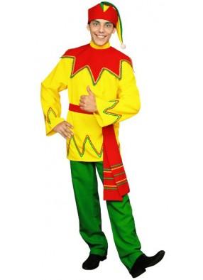 Русский костюм веселого Петрушки