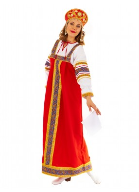 Русский народный костюм Княжны для взрослого