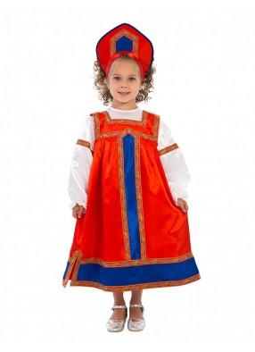 Русский народный костюм Маруся детский фото