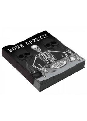Салфетка Большой Скелет 1 фото