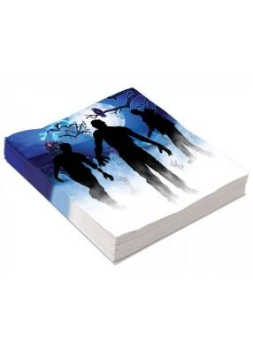 Салфетки большие Зомби 1 фото