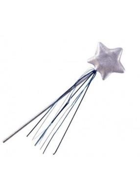 Серебряная волшебная палочка феи фото