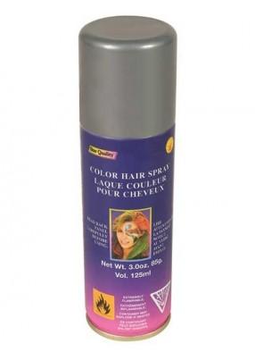 Серебряный спрей для волос фото