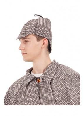 Шапка Шерлока для взрослого OneSize