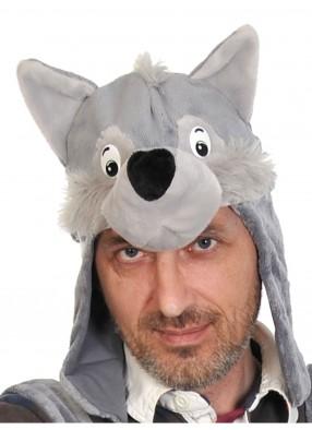 Шапка волка взрослая