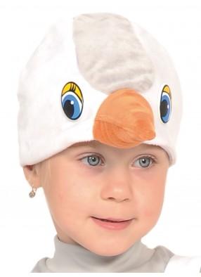 Шапочка цапли для детей
