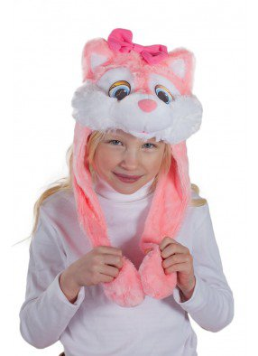 Шапочка Кошки розовой