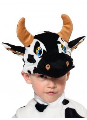 Шапочка-маска бычка