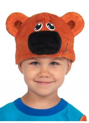Шапочка медведя Кеши из серии Мимимишки для детей