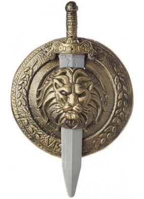Щит и меч гладиатора