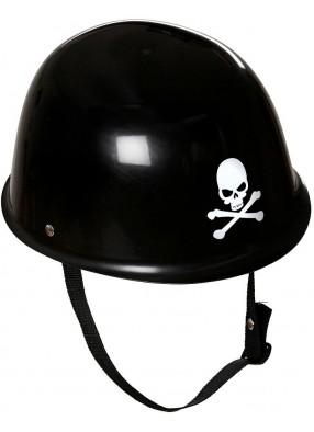 Шлем байкера с черепом