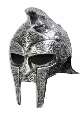Шлем гладиатора серебристый