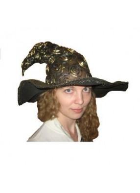 Шляпа ведьмочки золотая