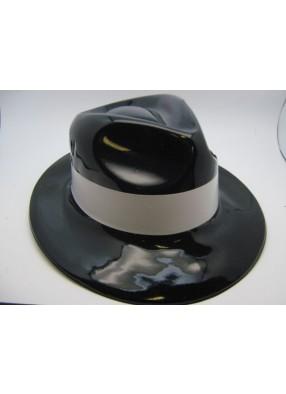Шляпа гангстера черная