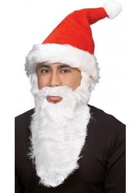 Шляпа и борода Санты фото