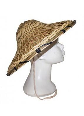 Шляпа китайская бамбуковая