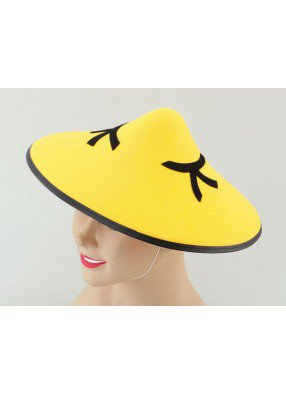 Шляпа китайская фетр