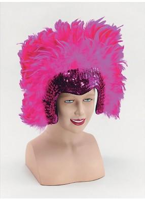 Шляпа Клеопатры розовая