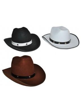 Шляпа ковбоя с заклепками
