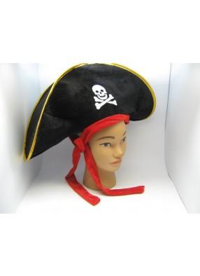 Шляпа Пирата Велюровая