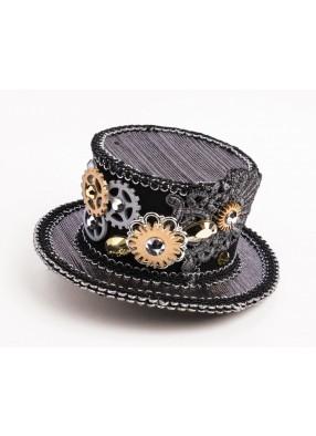 Шляпа Стимпанк с шестигранниками