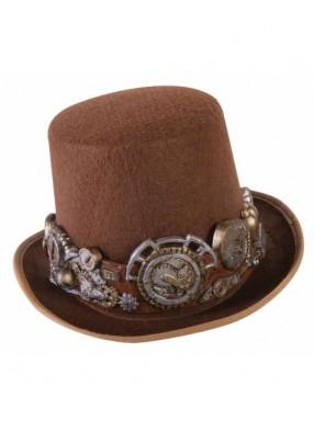 Шляпа в стиле Стимпанк с шестигранниками