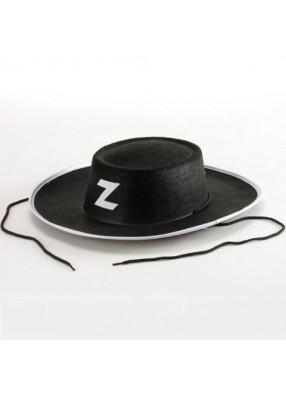 Шляпа Зорро с завязками