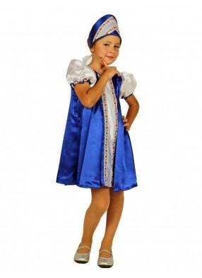 Синее платье сказочной царевны 1 фото