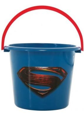 Синее ведерко для Супермена
