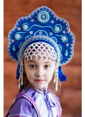 Синий кокошник Царевны
