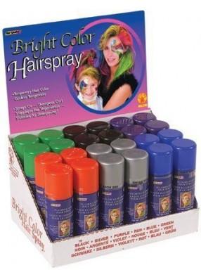 Синий спрей для волос