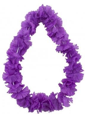 Сиреневое ожерелье из цветов