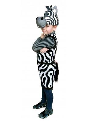 Смелая зебра