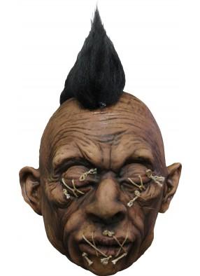 Сморщенная голова ирокеза