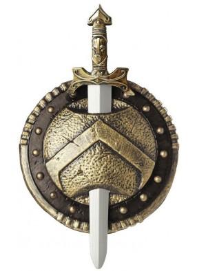 Спартанский меч со щитом