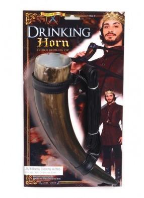 Средневековый рог для вина