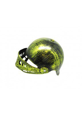 Средневековый золотой шлем