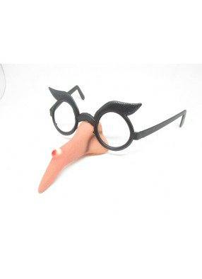 Светящиеся очки носатой ведьмы