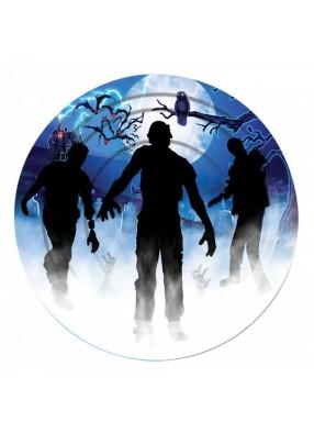 Тарелка большая зомби 1 фото