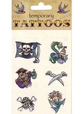 Татуировки для настоящего пирата