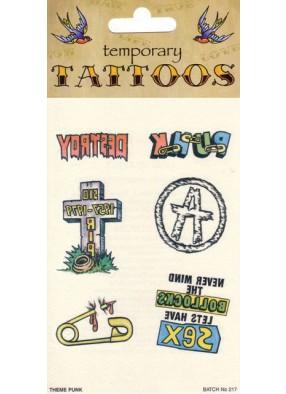 Татуировки для панков 6 листов