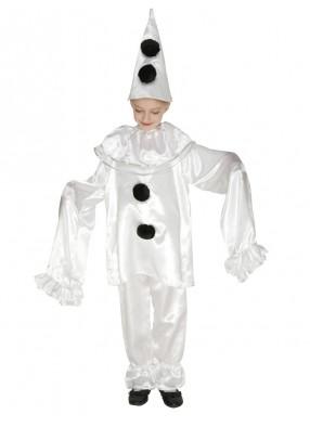 Театральный костюм пьеро
