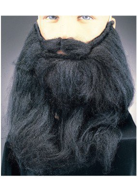Темная борода
