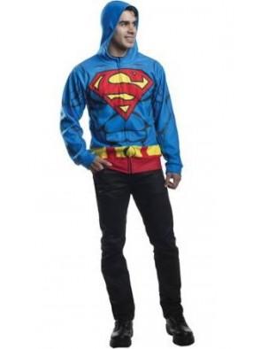 Толстовка Супермена взрослая