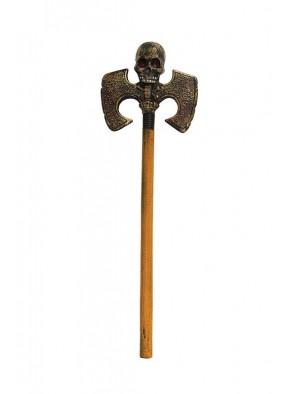 Топор с черепом двойной 64 см