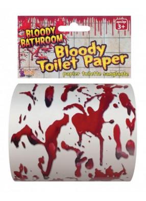 Туалетная бумага Кровавая 1 фото