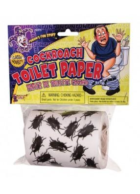 Туалетная бумага Тараканы 1 фото