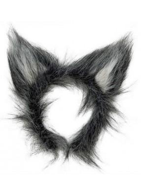 Уши волка меховые
